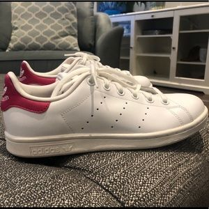 Adidas Stan Smith Shoes (Bold Pink)